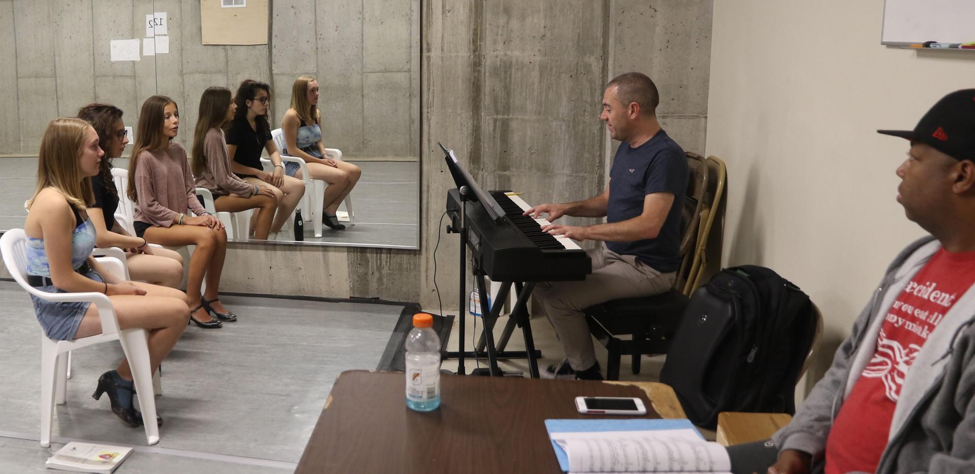 Music rehearsal