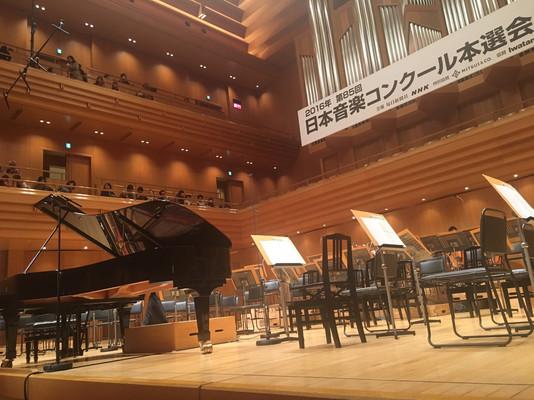 日本音楽コンクール、本選