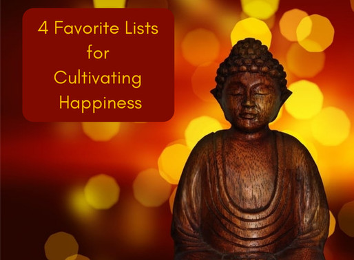 4 Favorite Lists for Cultivating Happiness