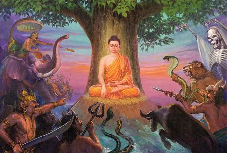 Bhumisparsha Mudra: Unshakable Wisdom