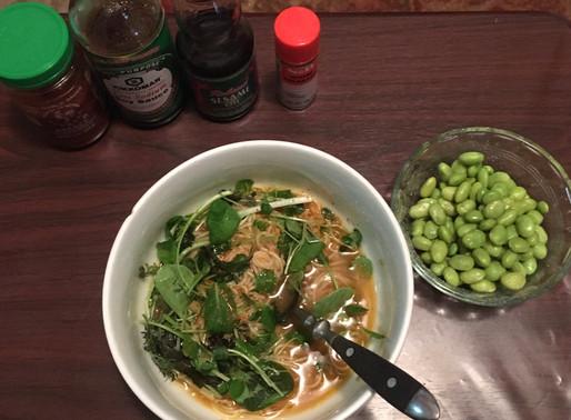 Quick Vegan Japanese Noodle Soup