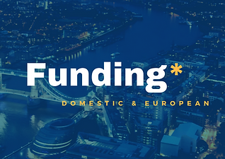 EU funding, interreg, horizon 2020, life, domestic funding, funding bids, NERC, Innovate UK, Big Lottery, bid writing, bid support, project delivery