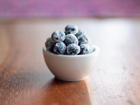 Frozen blueberries   Arandanos Congelados