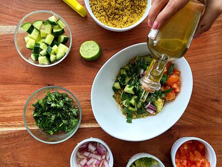 Quinoa Salad | Ensalada de Quinoa con Aguacate