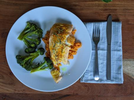 Easy 5 Ingredient Salmon | Salmon Super Fácil De Hacer