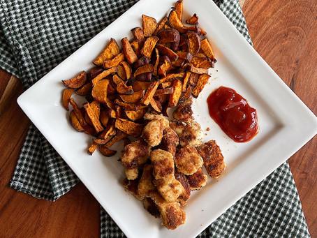 Crispy Chicken Nuggets | Nuggets de Pollo