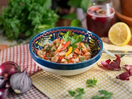 Shrimps al ajillo | Camarones al ajillo