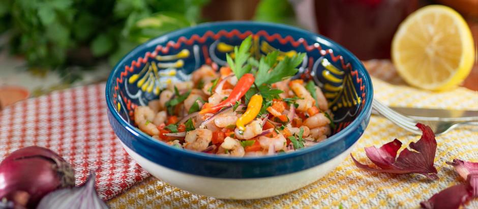 Shrimps al ajillo   Camarones al ajillo