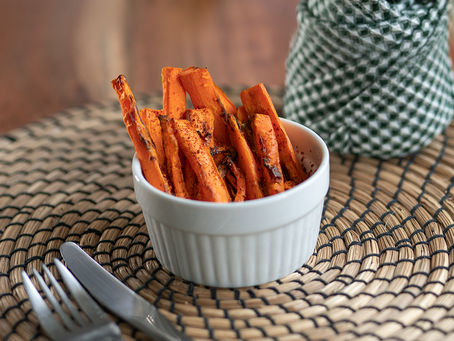 Airfryer Carrot Chips | Chips de Zanahoria