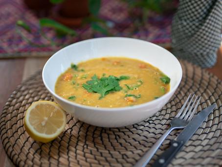 Persian Inspired Soup | Sopa Persa