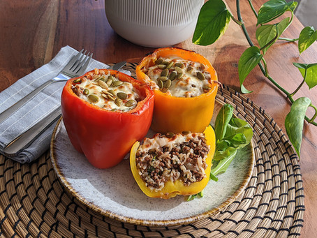 Stuffed Peppers | Pimientos Rellenos