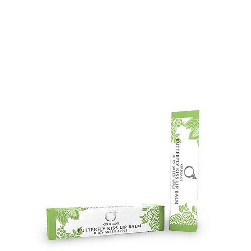 Butterfly Kiss Green Apple Lip Balm 15 g.