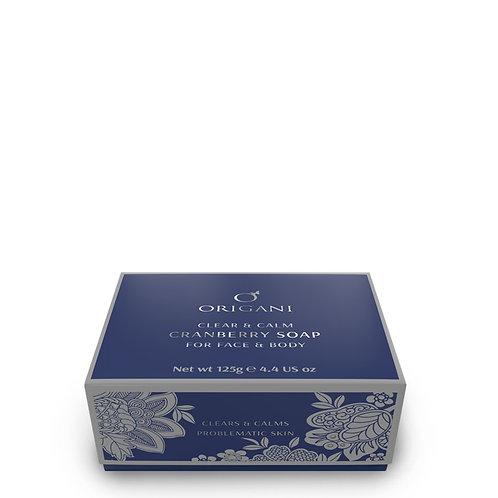 Body Care Clear & Calm Cranberry Soap  125 g.