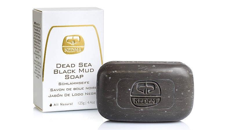 Dead Sea Black Mud Soap 125g