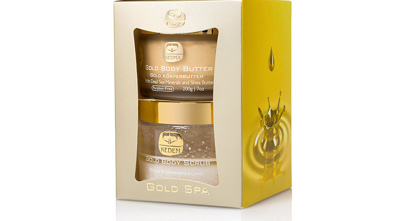 Gold Spa Kit