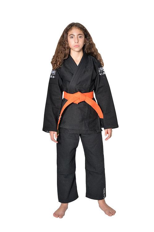 Kimono da BJJ per Bambini/Ragazzi Monkey Nero