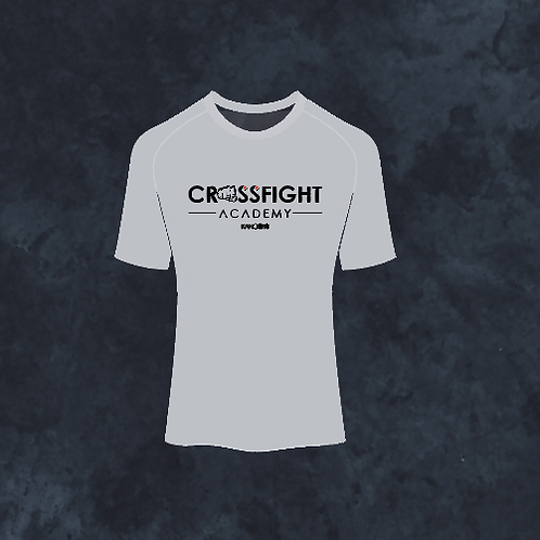 Maglietta Crossfight Academy Grigia