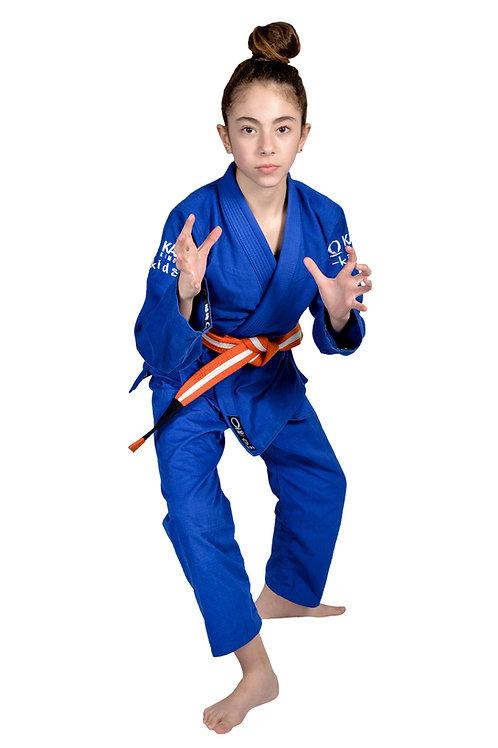 Kimono da BJJ per Bambini/Ragazzi Monkey Blu