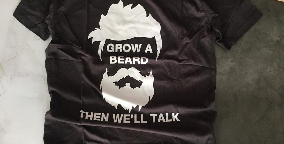 """Áo thun """"Grow a beard"""""""