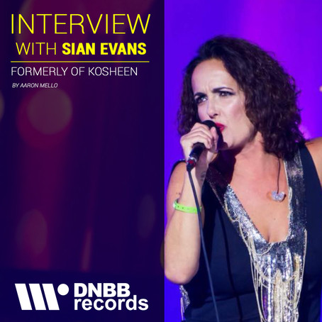 INTERVIEW WITH SIAN EVANS (VOCALIST FROM KOSHEEN)