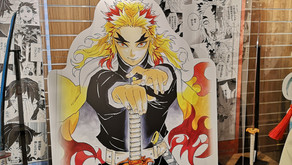 Kimetsu no Yaiba Katanas on Display