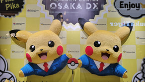 New Pokemon Cafe in Kansai (and Pokemon DX Osaka!)