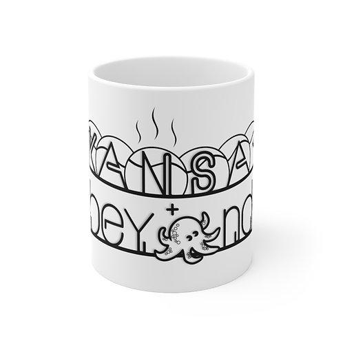 Kansai & Beyond Logo - Ceramic Mug 11oz