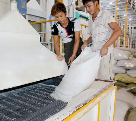 Pho La Min Rice Packaging