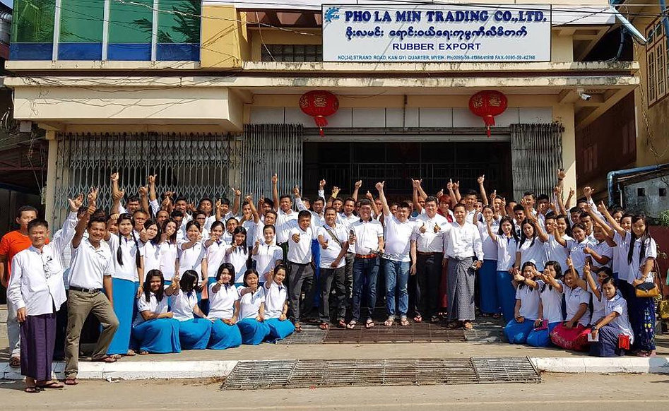 Pho La Min Trading Co., Ltd. Rubber Exporter