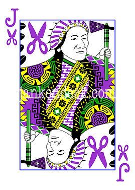 Jack of Scissors, North America's Chief Sitting Bull, Janken Deck