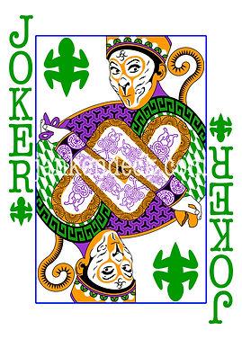 Joker of Lizard, China's Sun Wukong, the Monkey King, Janken Deck