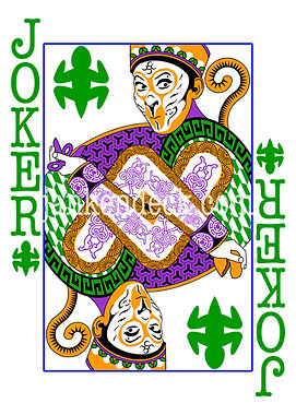 Joker of Lizard, China's Sun Wukong, the Monkey King, Janken Deck