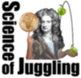 science of juggling school assembly newton logo Daymont