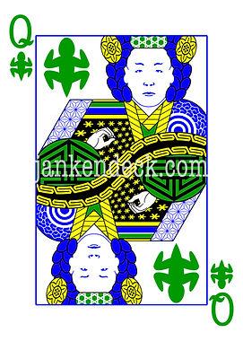 Queen of Lizard, Empress Myeongseong of Korea (Queen Min), Janken Deck