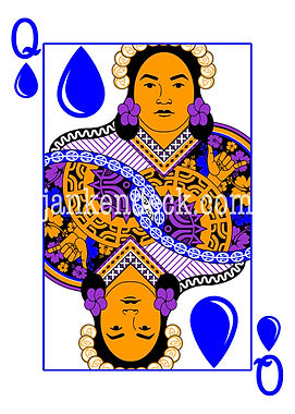 Queen of Water, Pōmare IV of Tahiti, Janken Deck