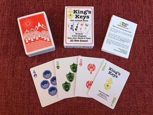King's Keys Deck (Red Backs)