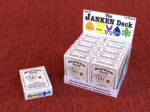 Janken Deck Retail Store Package