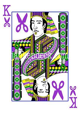 King of Scissors, Aztec King Moctezuma II, Janken Deck