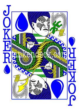 Joker of Water, Pacific Trickster Demigod Maui, Janken Deck