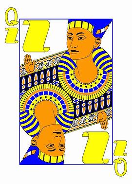 Queen of Paper, Nefertiti of Egypt, Janken Deck
