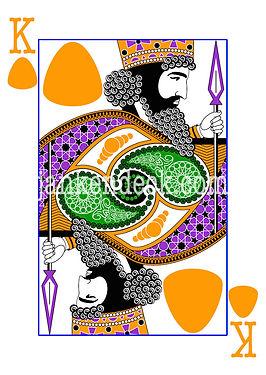 King of Rock, Xerxes of Persia, Janken Deck