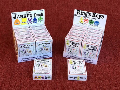 Janken Deck & King's Keys Retail Store Package