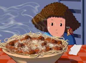 Snails on Spaghetti