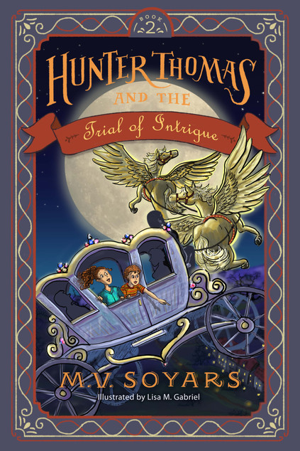 Children's Chapter Book Cover Art