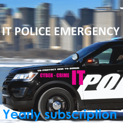 IT Police Emergency Services - Yearly Subscription