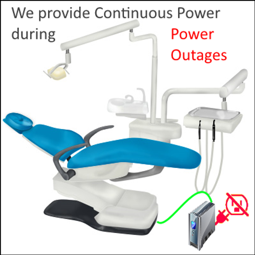 UPS-Continuous Power for Dentist Office Equipment (1000 Watt)