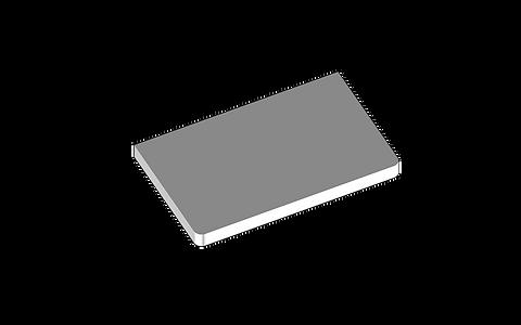 Träskiva för skåp med utdragbar låda 402