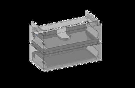 Kommod för MIA handfat, 2 lådor.png