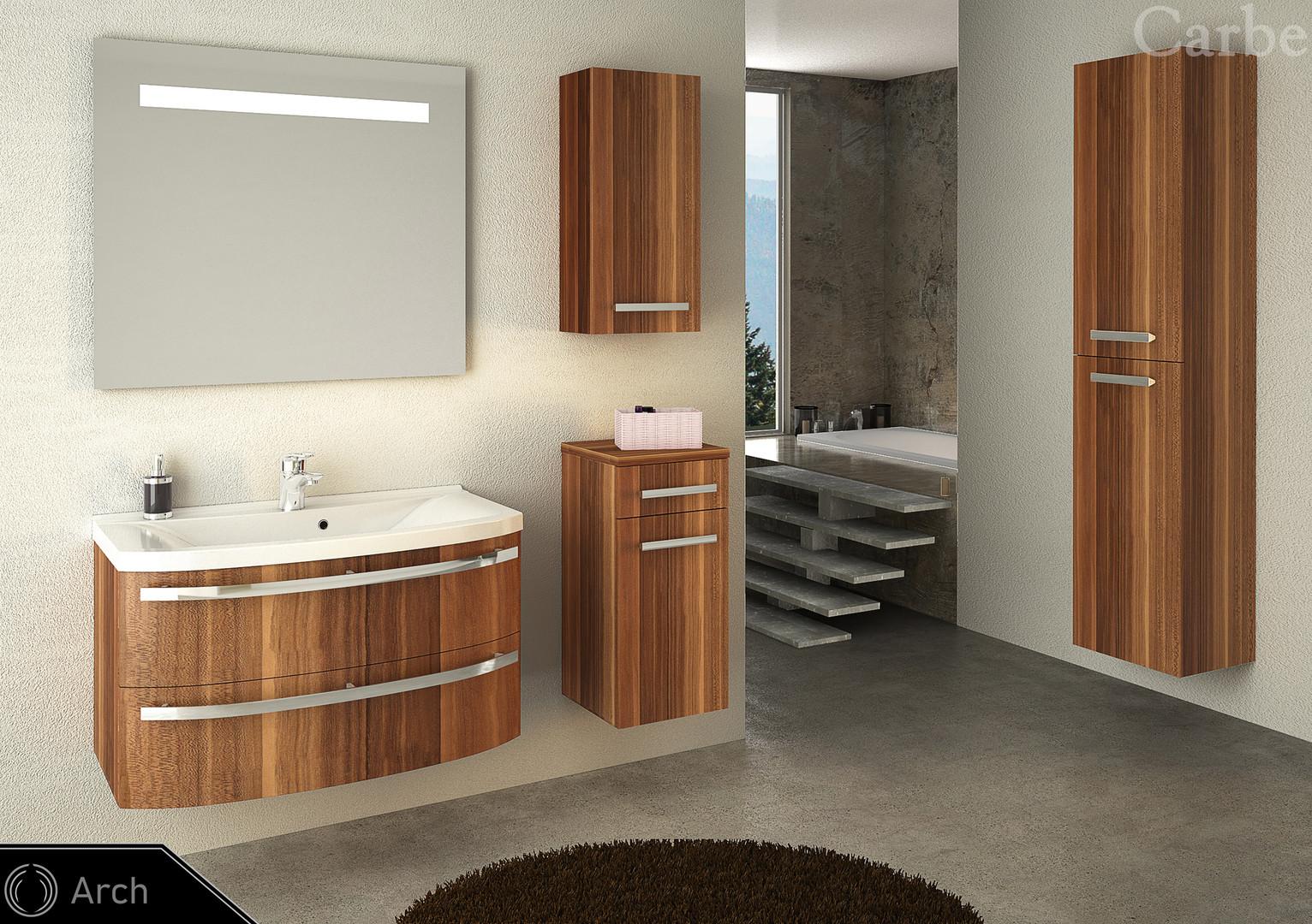 Arch - Purple Plum, Dolmite Washbasin, Soft Closing