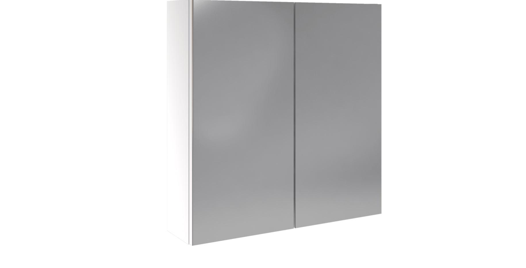 Spegelskåp två spegeldörrar